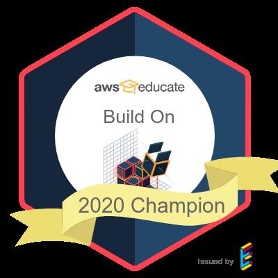 BuildOn Champion 2020