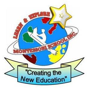 Learn & Explore Montessori School Logo