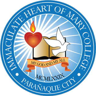 Immaculate Heart of Mary College - Parañaque Logo