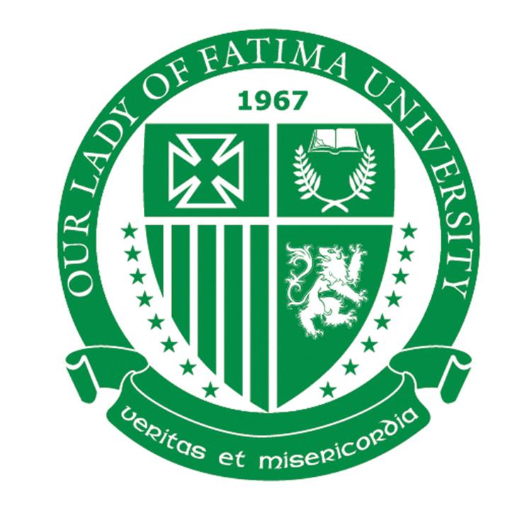 Our Lady of Fatima University-San Fernando City Logo