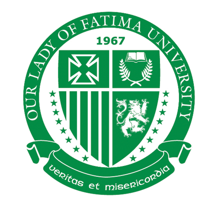 Our Lady of Fatima University-San Fernando City Logo