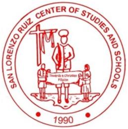 San Lorenzo Ruiz Center of Studies and Schools  Logo