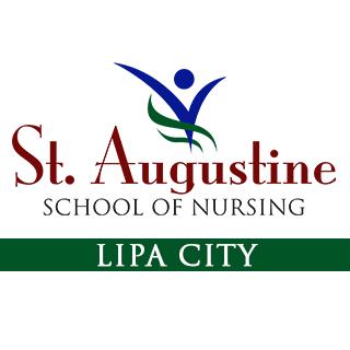 St. Augustine School of Nursing - Lipa City Logo