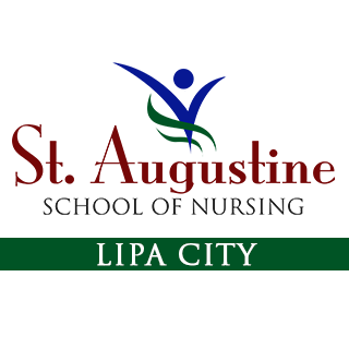 St. Augustine School of Nursing - Lipa City Logo