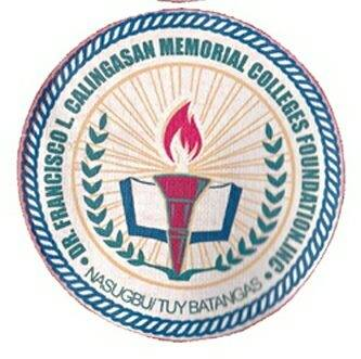Dr. Francisco L. Calingasan Memorial Colleges Foundation Inc. - Nasugbu Campus Logo