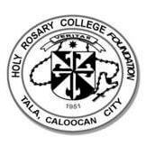 Holy Rosary College Foundation Logo