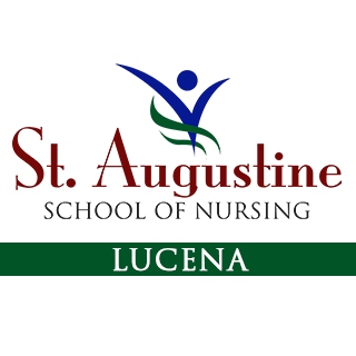 St. Augustine School of Nursing - Lucena City Logo