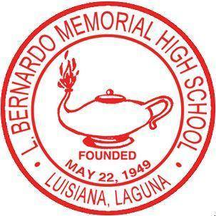 L. Bernardo Memorial High School, Inc. Logo