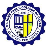 St. John Paul II College of Davao Logo