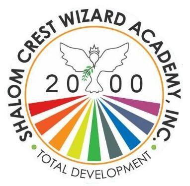 Shalom Crest Wizard Academy Logo