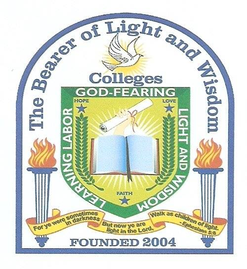 The Bearer of Light and Wisdom Colleges Logo