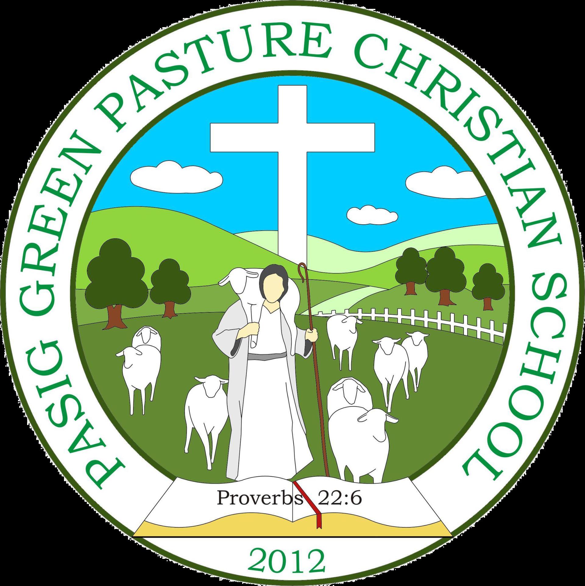 Pasig Green Pasture Christian School Logo