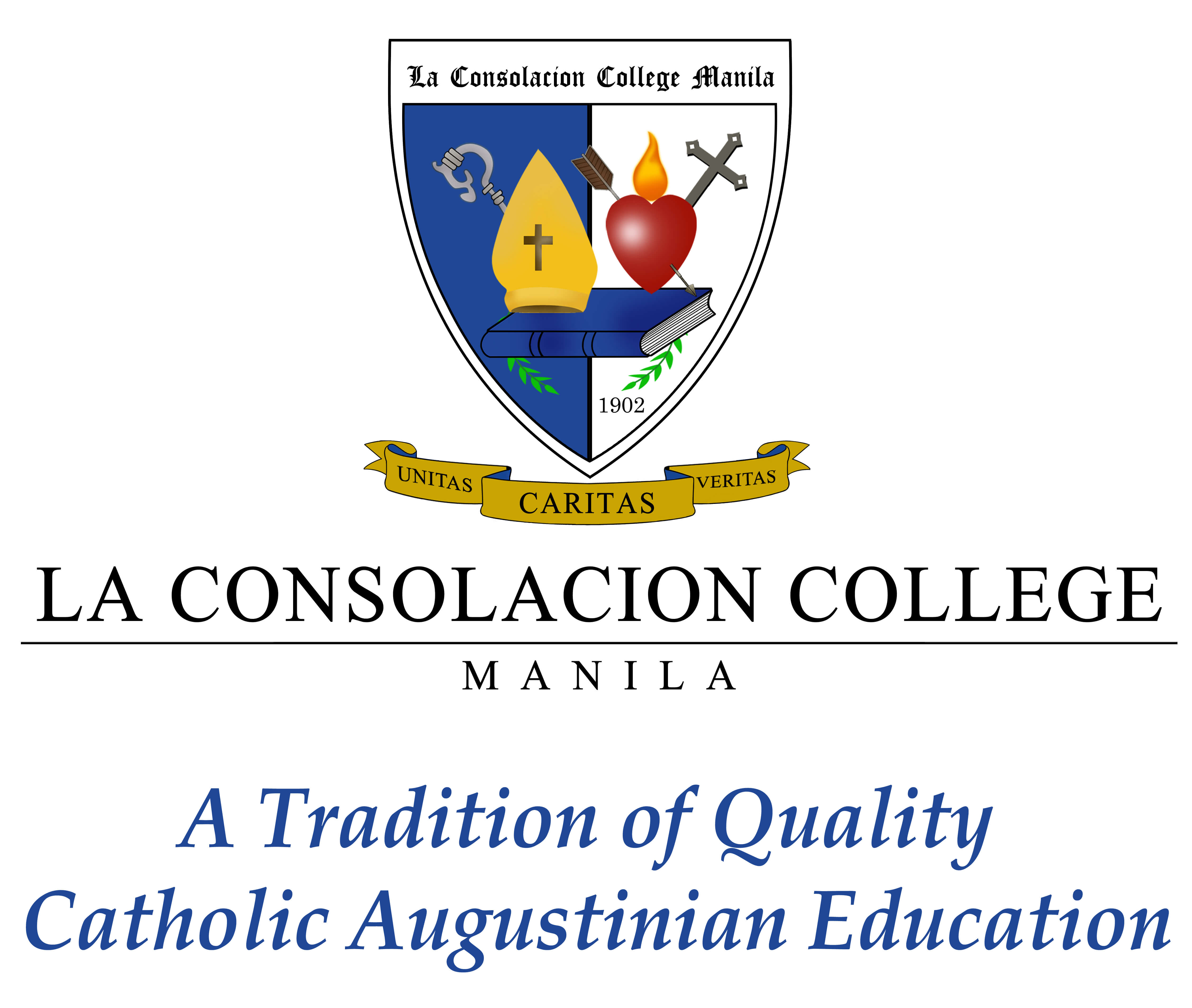 La Consolacion College Manila (LCC) Logo