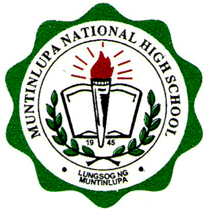 Muntinlupa National High School - Main Logo