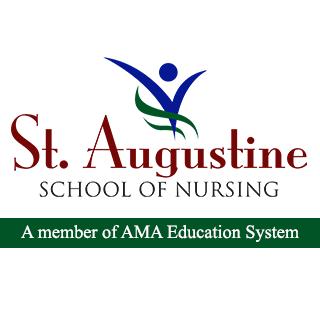 St. Augustine School of Nursing - Quezon City Logo