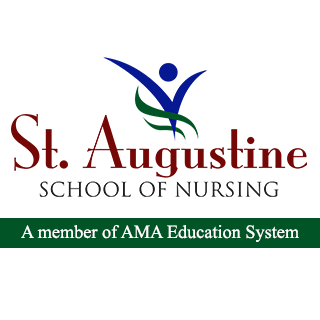 St. Augustine School of Nursing - Quezon City Logo