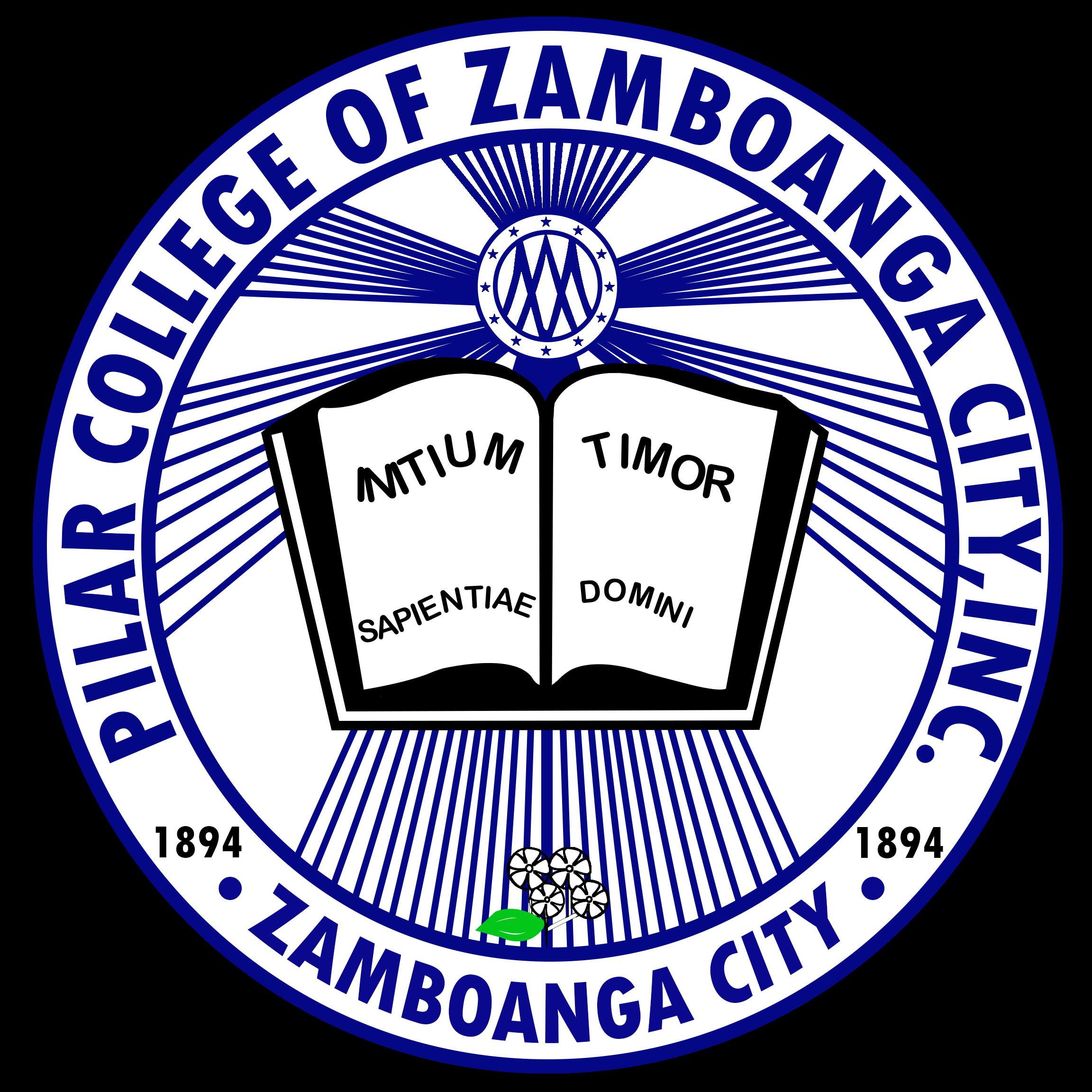 Pilar College of Zamboanga City Inc. Logo