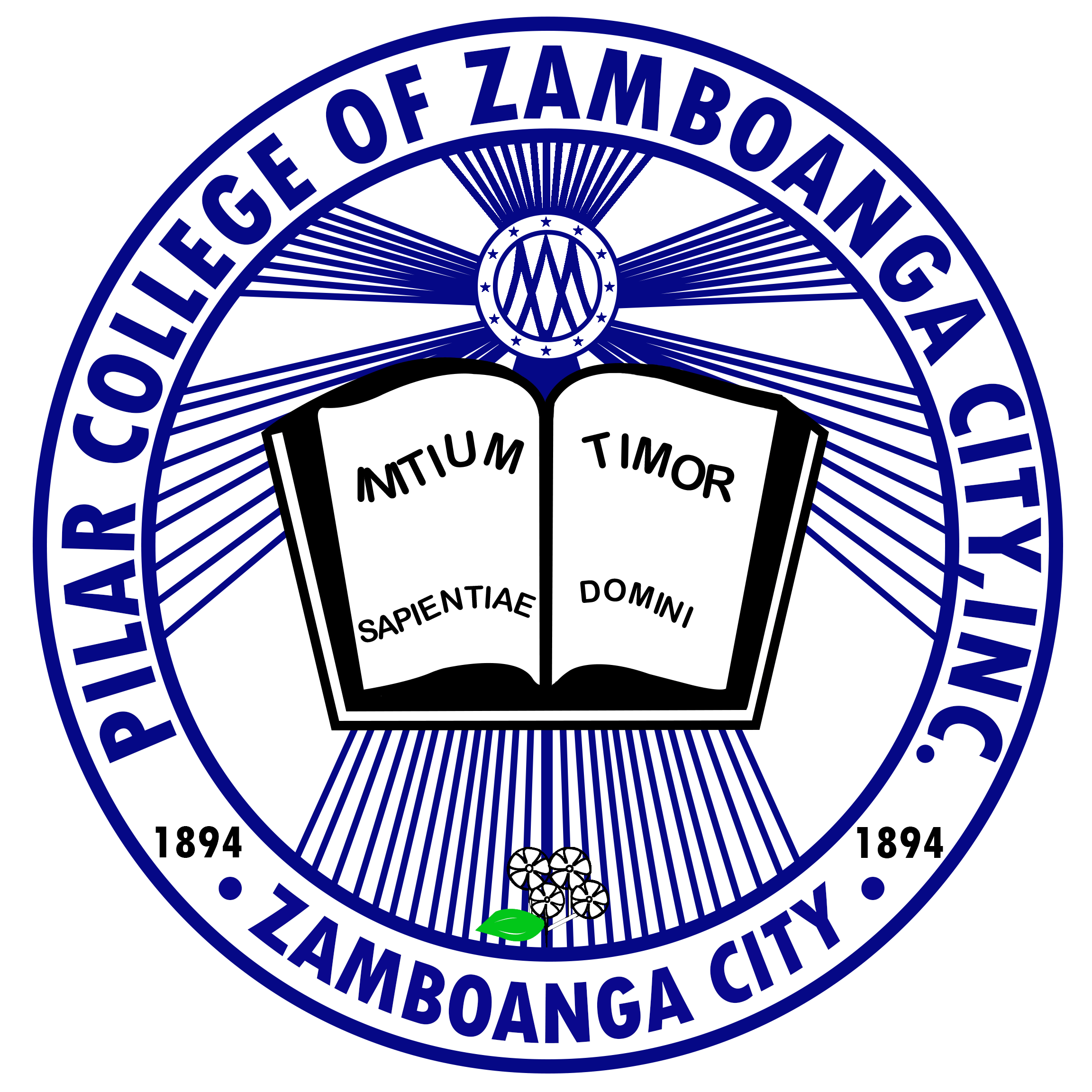 Pilar College of Zamboanga City Inc. Logo