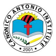 Canonico Antonio Institute, Inc. Logo