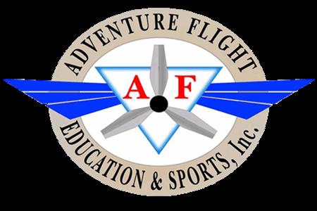 Adventure Flight Education and Sports Inc. Logo