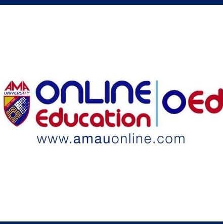 AMA University Online Education Logo