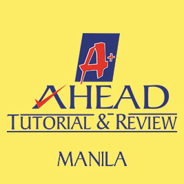 AHEAD Tutorial and Review - San Miguel, Manila Logo