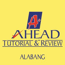 AHEAD Tutorial and Review - Alabang Logo