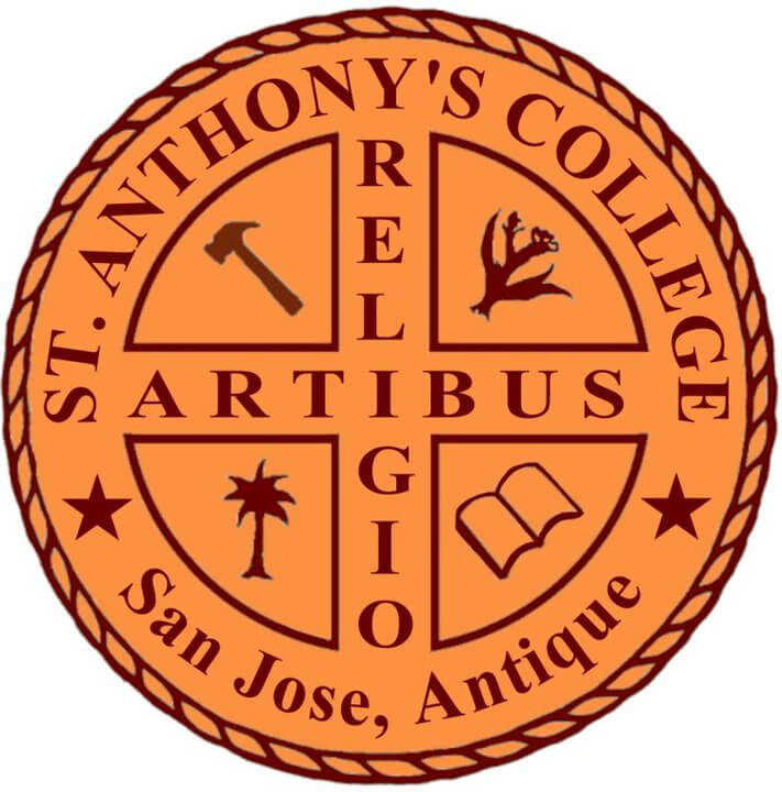 St. Anthony's College of Antique Logo