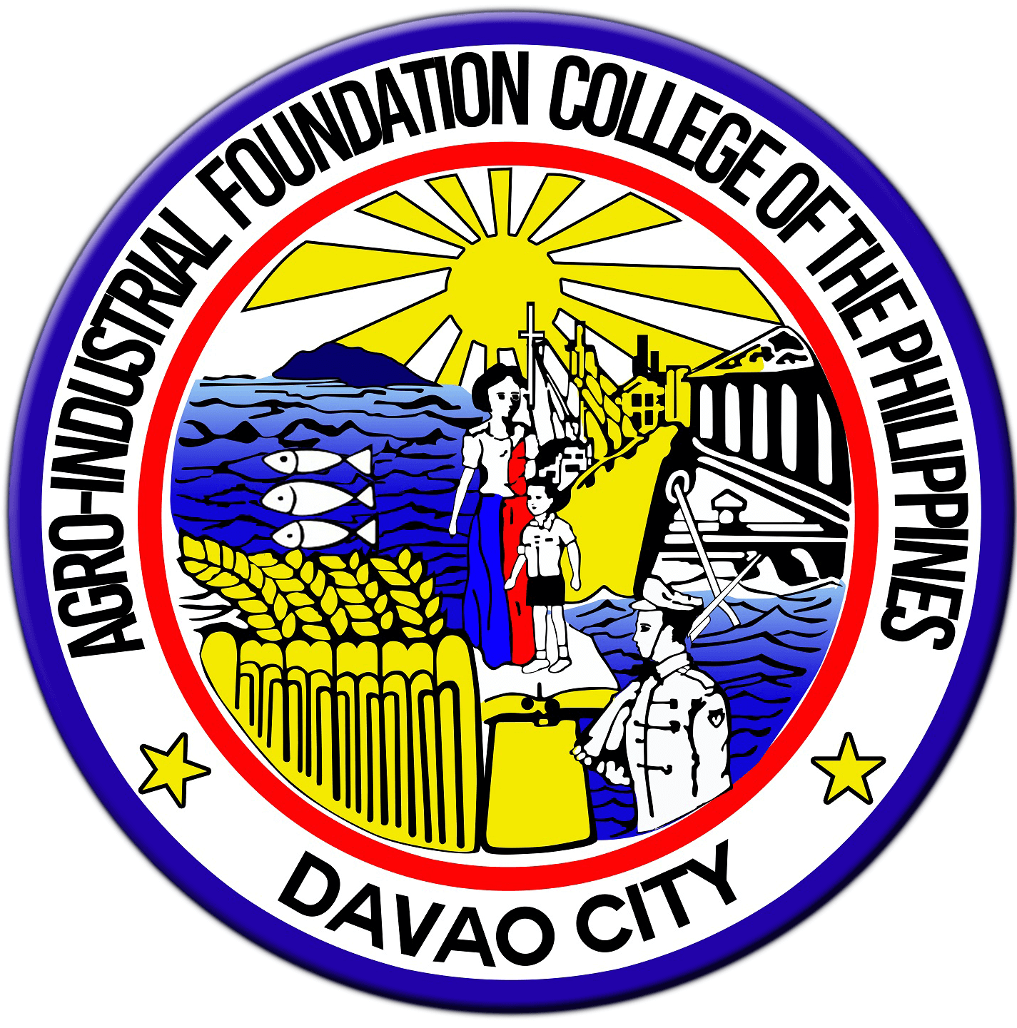 Agro-Industrial Foundation College of the Philippines (AIFCP) Logo