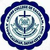 Holy Cross College of Calinan, Inc. Logo