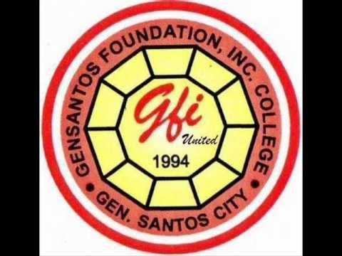 Gensantos Foundation College, Inc. Logo