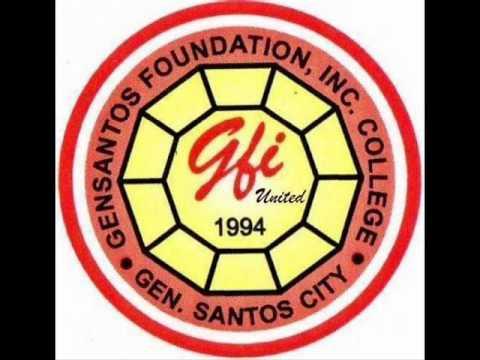 Gensantos Foundation College, Inc. Logo