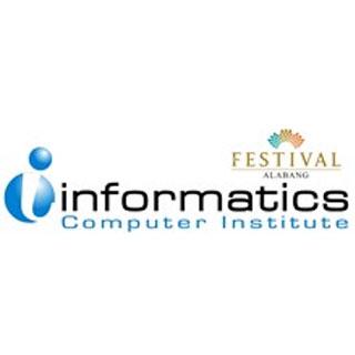 Informatics Computer College Festival Mall Logo