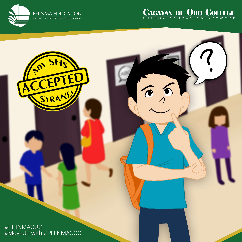 PHINMA - Cagayan De Oro College Logo
