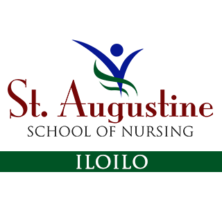 St. Augustine School of Nursing - Iloilo City Logo