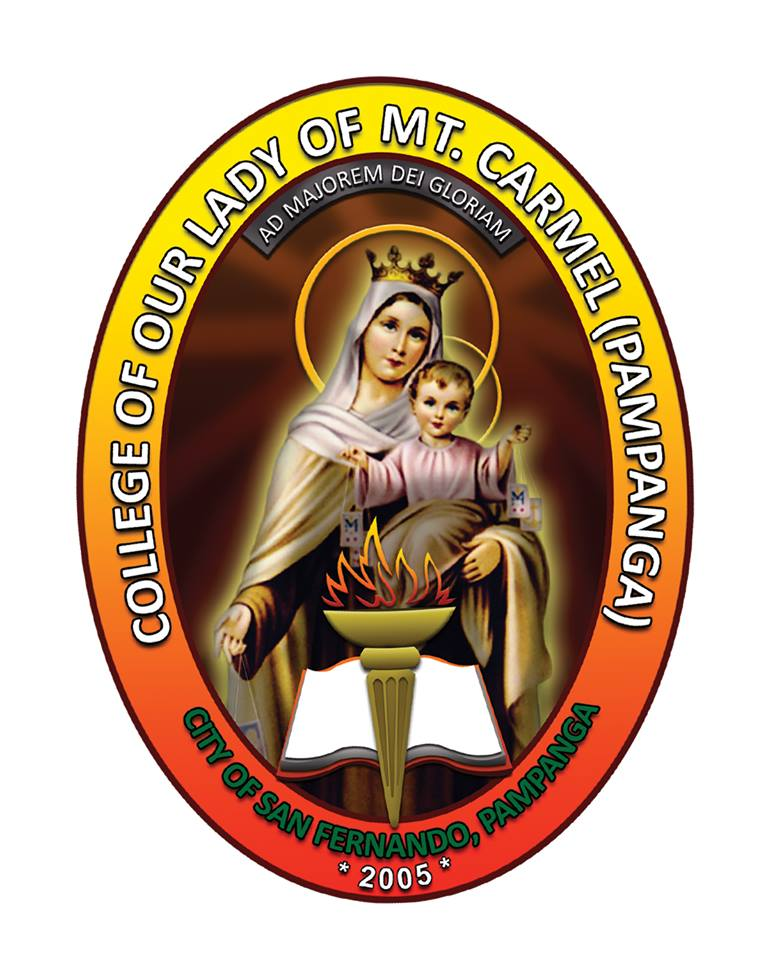 College of Our Lady of Mt. Carmel (Pampanga) Logo