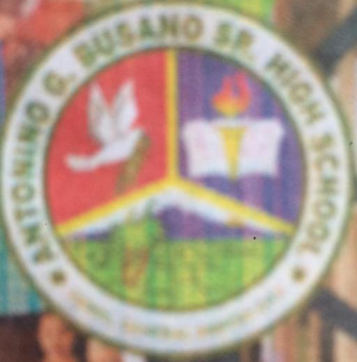 Antonio G Busano, Sr High School Logo