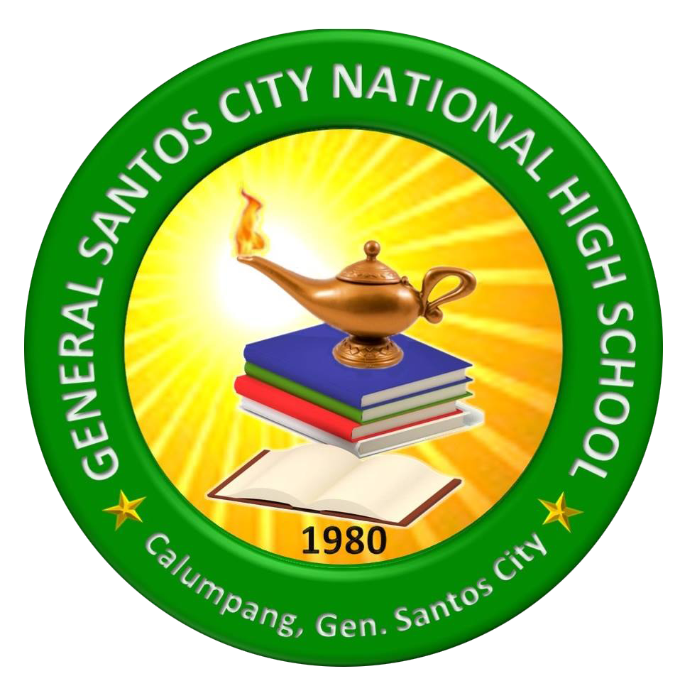 General Santos City National High School (Main) Logo