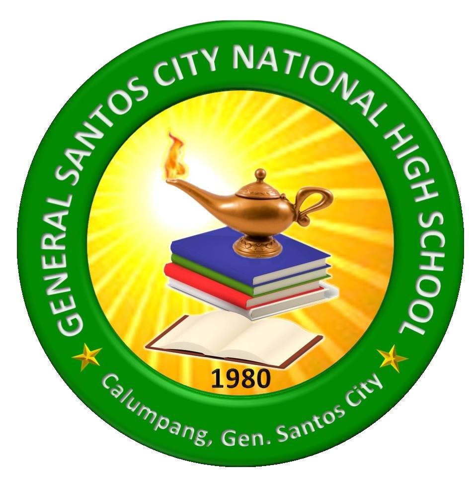 General Santos City National High School (Main) Logo