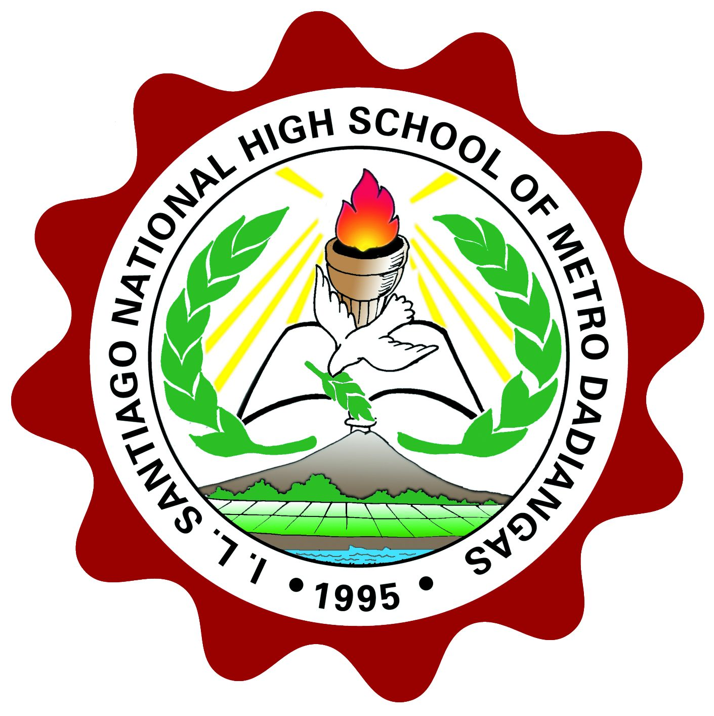Irineo Santiago National High School of Metro Dadiangas (Main) Logo