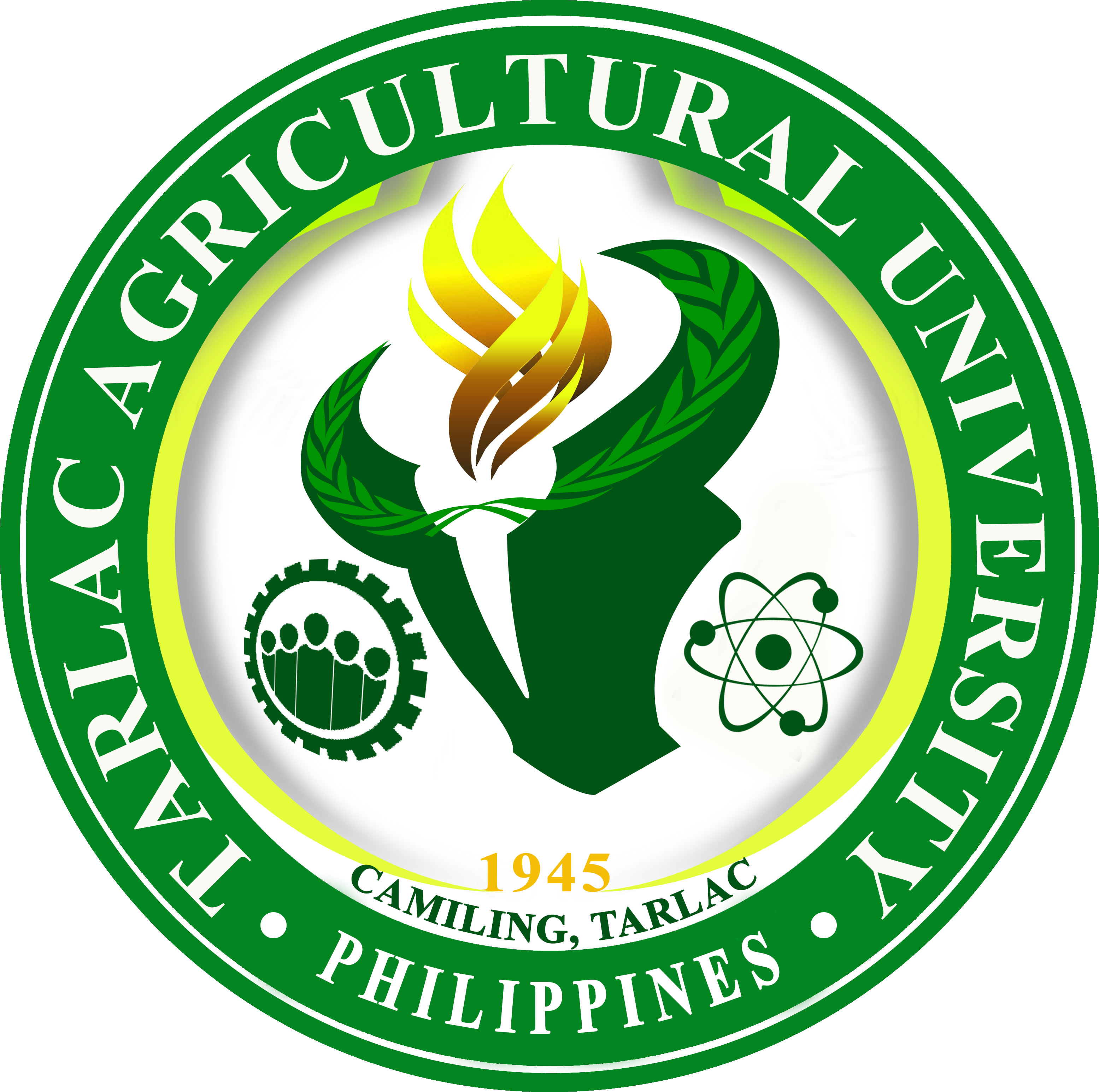 Tarlac Agricultural University (formerly Tarlac College of Agriculture) Logo