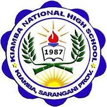 Kiamba National High School Logo